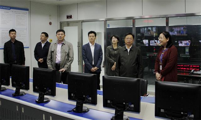 副市长薛启书深入总台检查安全生产工作