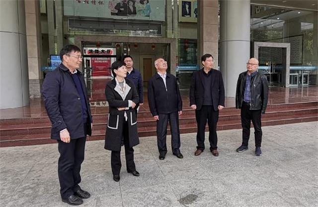 市委常委、宣传部部长赵正兰到总台检查安全生产