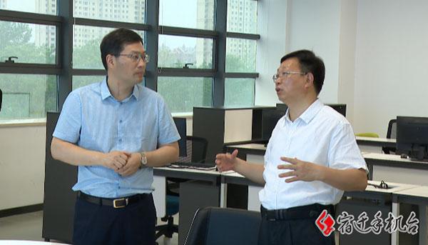 副市长薛启书调研市广电总台